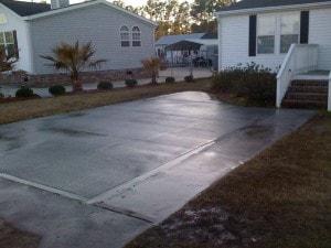 Concrete Driveway Services - Haddock Enterprises, Inc.